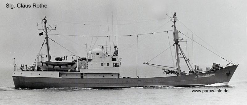 Vermessungs- und Aufklärungsschiff HYDROGRAPH